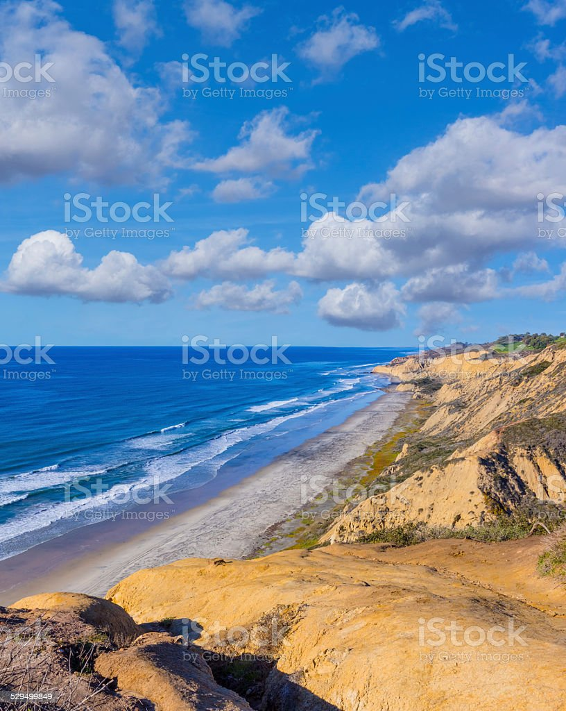 Torrey Pines State Natural Reserve,San Diego, CA,(P) stock photo
