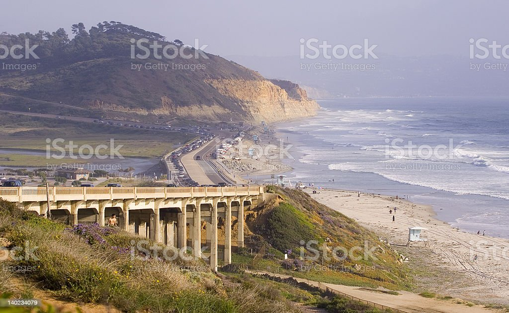 Torrey Pines State Park royalty-free stock photo