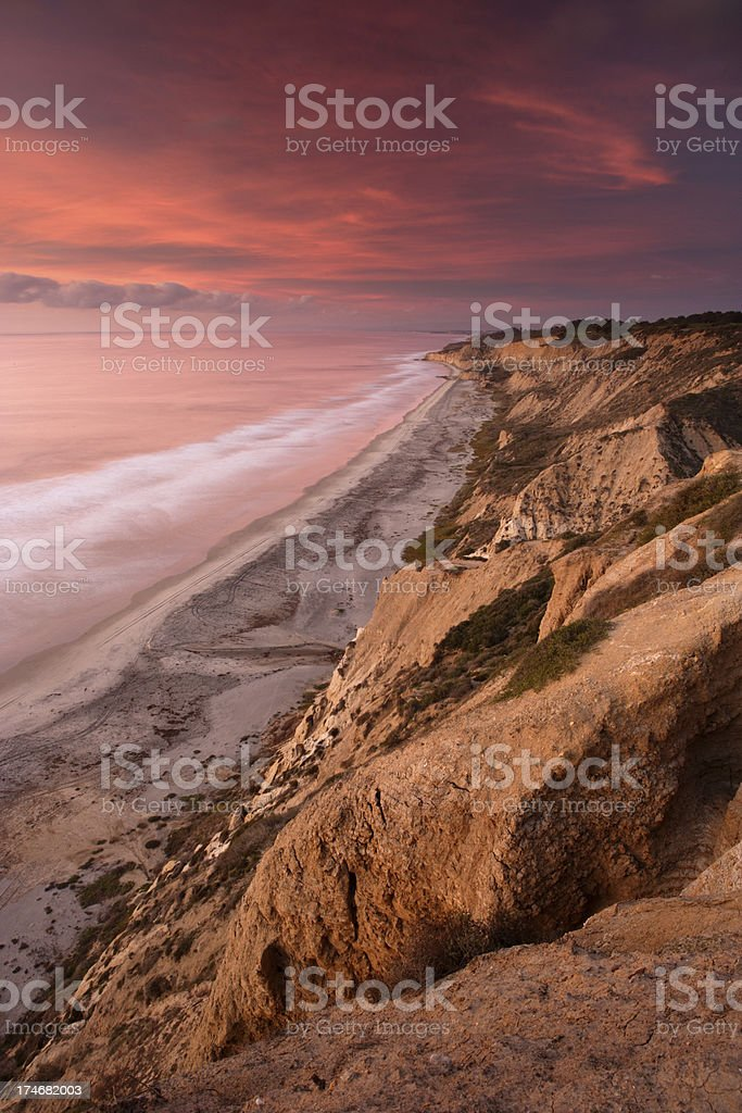 Torrey Pines Twilight royalty-free stock photo