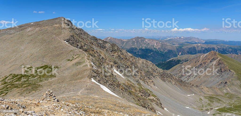 Torreys Peak stock photo