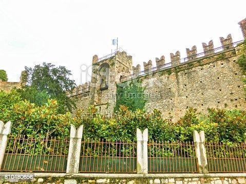 872969580istockphoto Torri del Benaco castle on Lake Garda in Italy 810480656