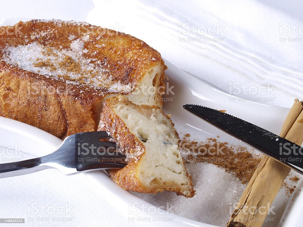 Torrijas – French Toast royalty-free stock photo
