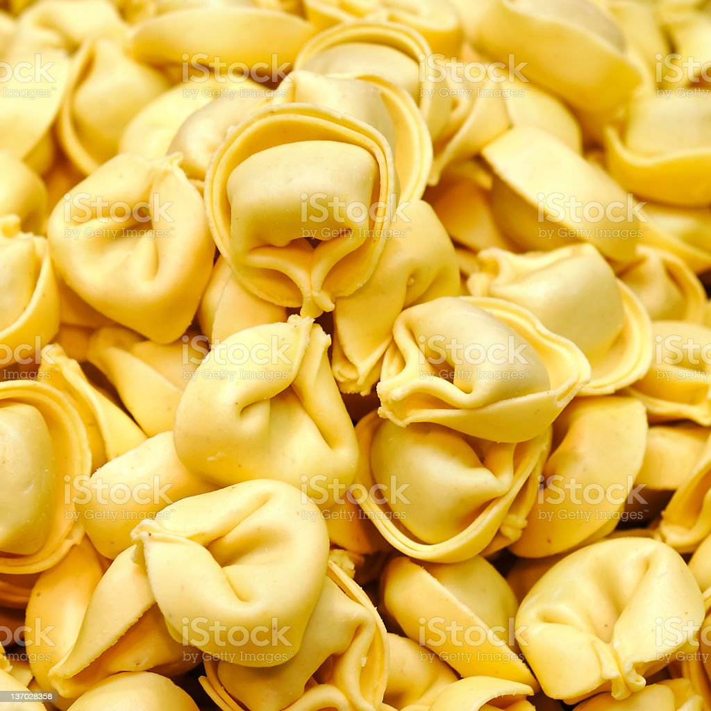tortellini close-up royalty-free stock photo