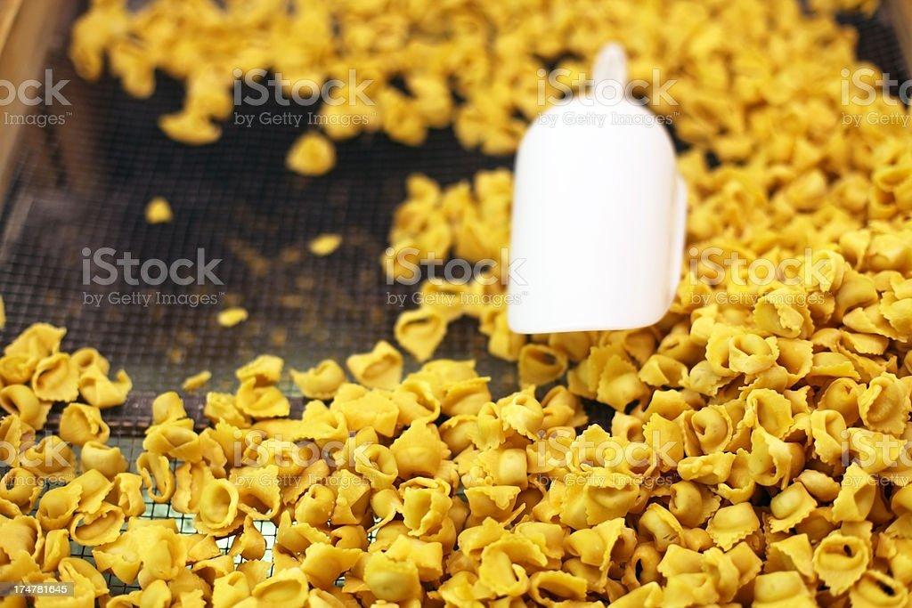 Tortellini stock photo