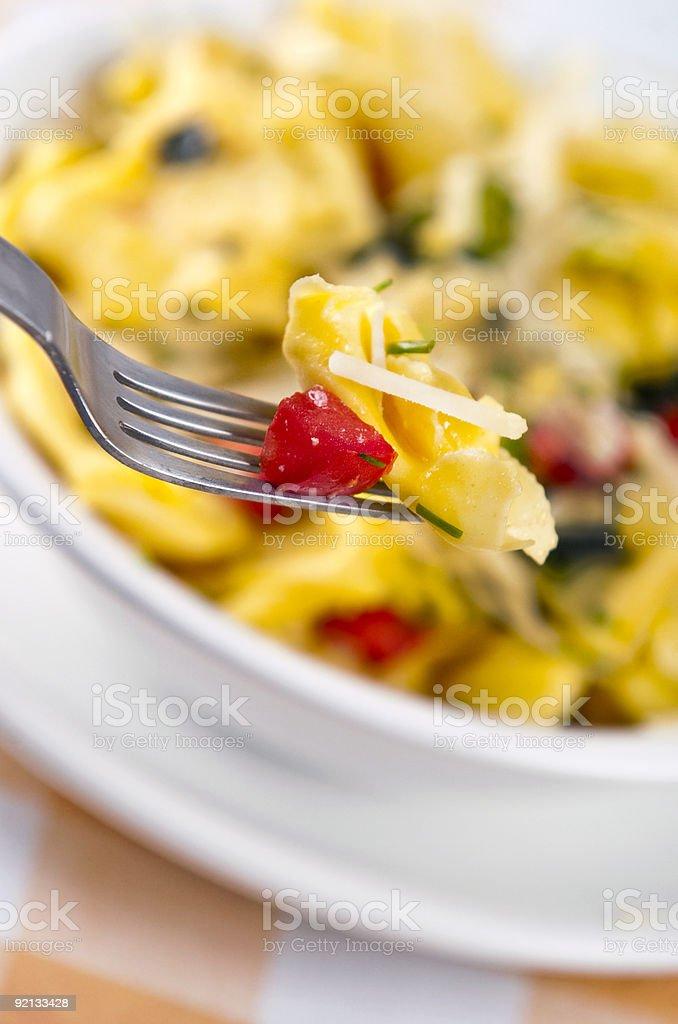 tortellini primavera royalty-free stock photo