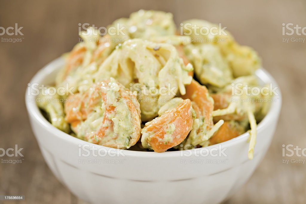 Tortellini Salad stock photo