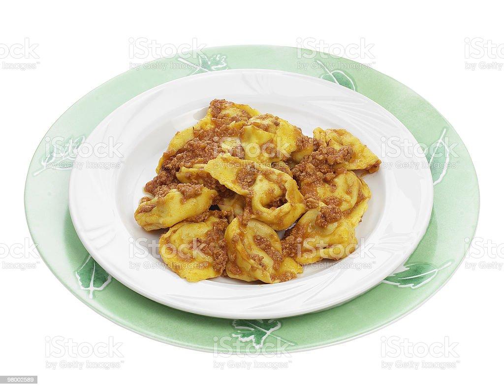 Tortelloni di zucca royalty-free stock photo