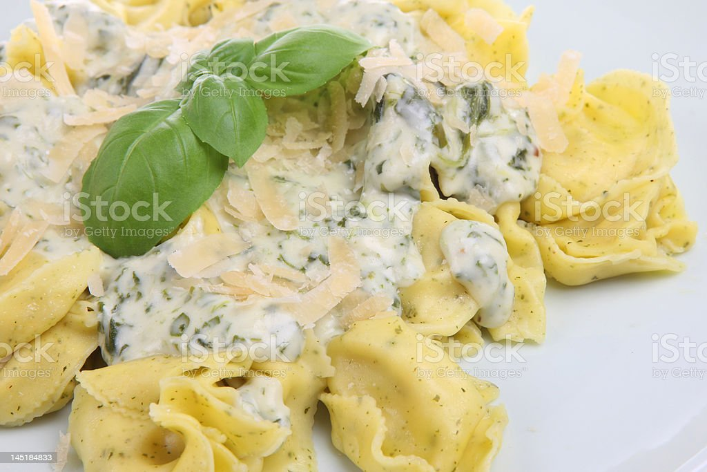 Tortelloni Pasta royalty-free stock photo