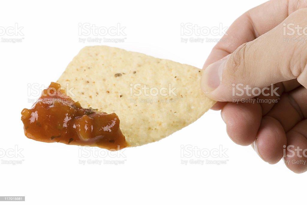 Tortilla Chip royalty-free stock photo