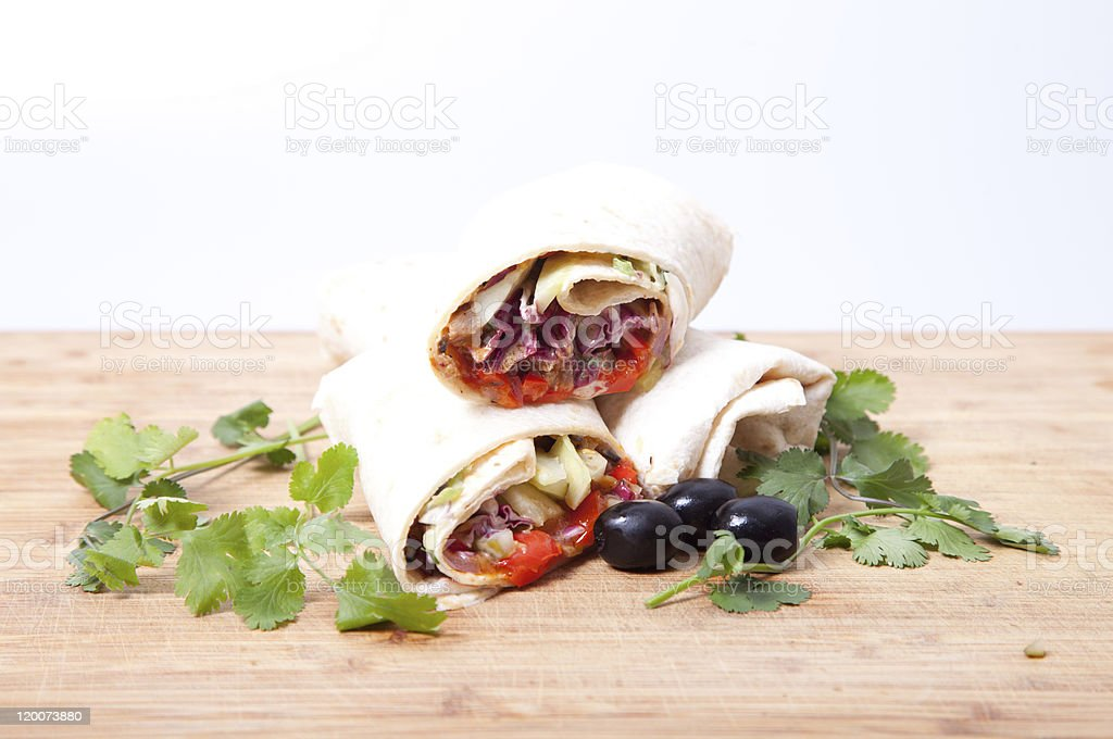 Tortilla royalty-free stock photo
