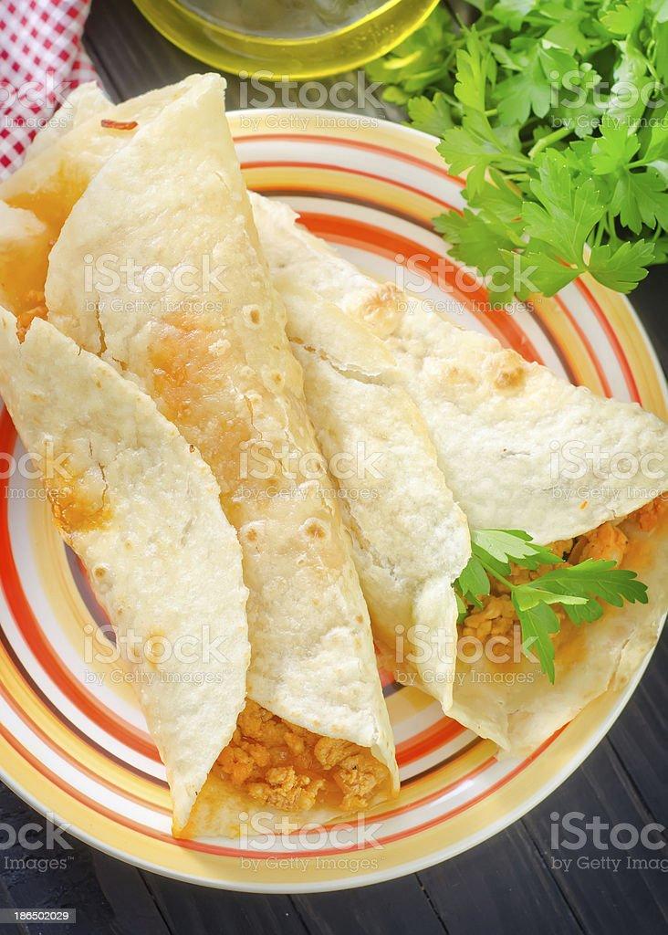 tortilla royalty-free stock photo