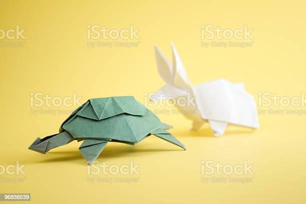 Schildkröte Und Hase Stockfoto und mehr Bilder von Der Hase und die Schildkröte