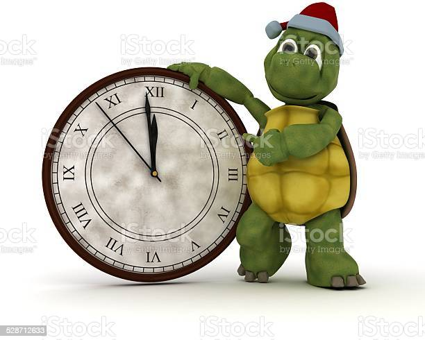 Tortoise with a clock at new years picture id528712633?b=1&k=6&m=528712633&s=612x612&h=eygr9dsncwm1lmyndnf6uefwqyptml87lzmpn9 omjy=