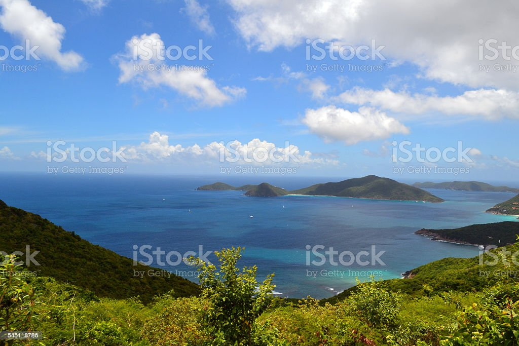 Tortola, British Virgin Islands stock photo