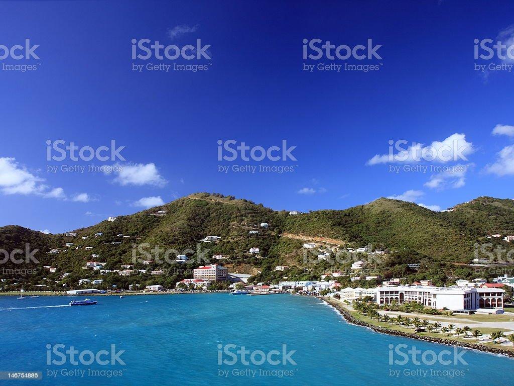 Tortola stock photo