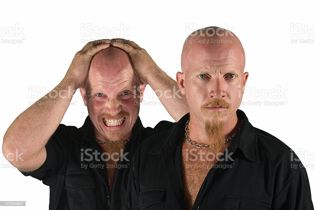 Torture Soul royalty-free stock photo