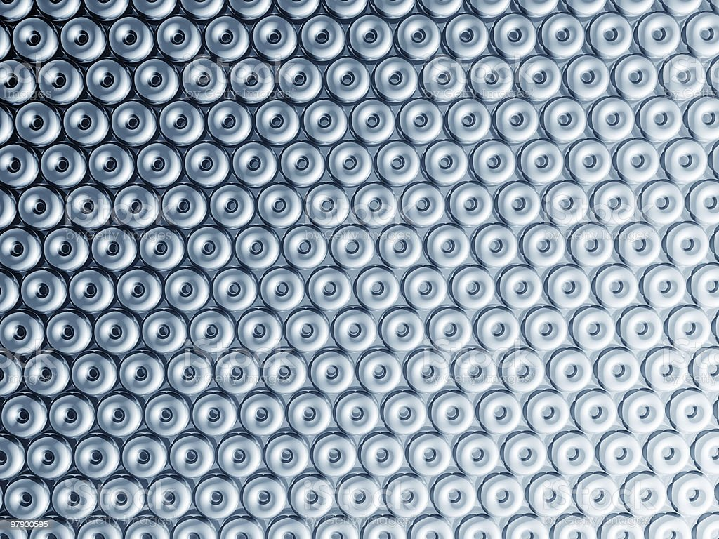 Torus pattern shiny metal effect background royalty-free stock photo