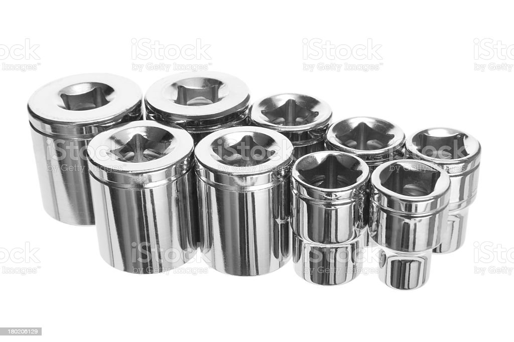 Torx Socket Set stock photo