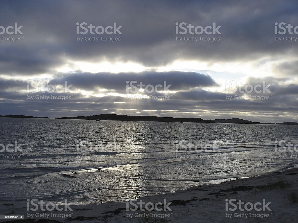 Tory Island - Donegal royalty-free stock photo