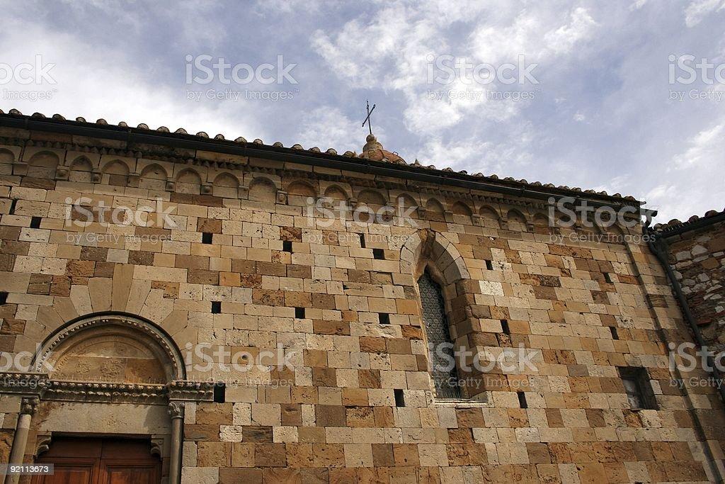 Toscana church royalty-free stock photo
