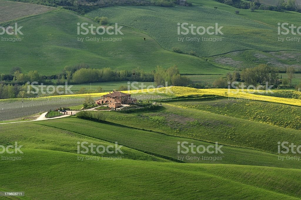 Toscana colours royalty-free stock photo