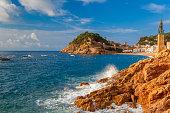 istock Tossa de Mar on the Costa Brava, Catalunya, Spain 520703862