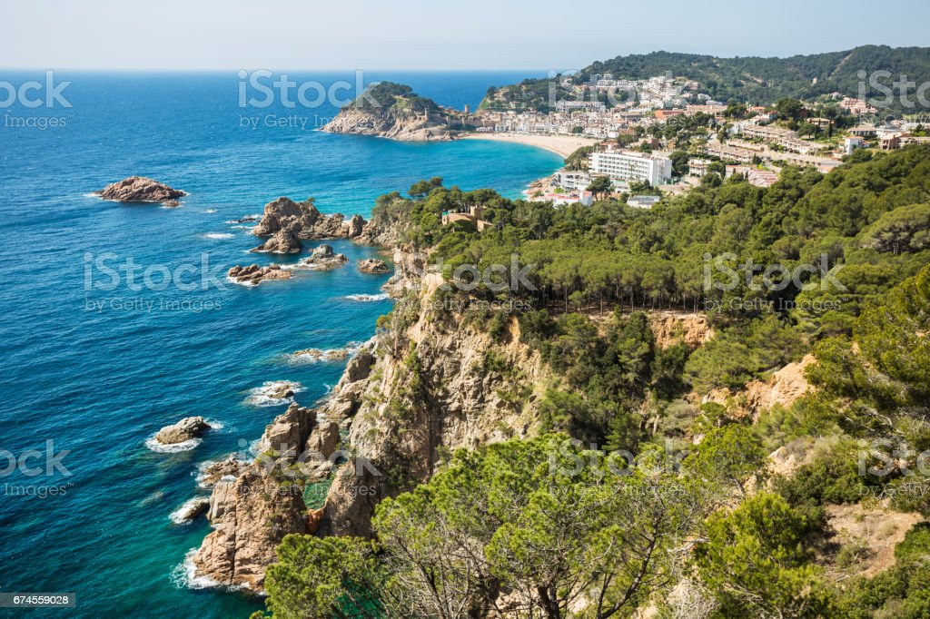 Tossa de Mar stock photo