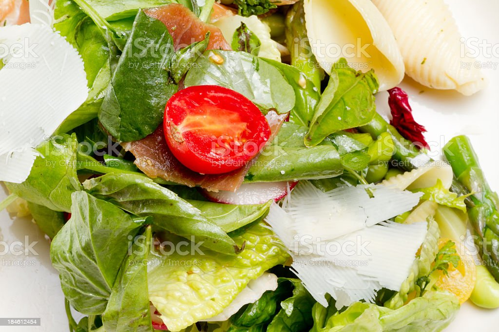 Tossed Green Salad stock photo