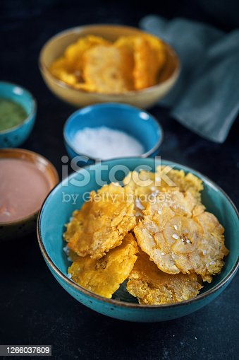 Tostones Puerto Rican Fried Plantains