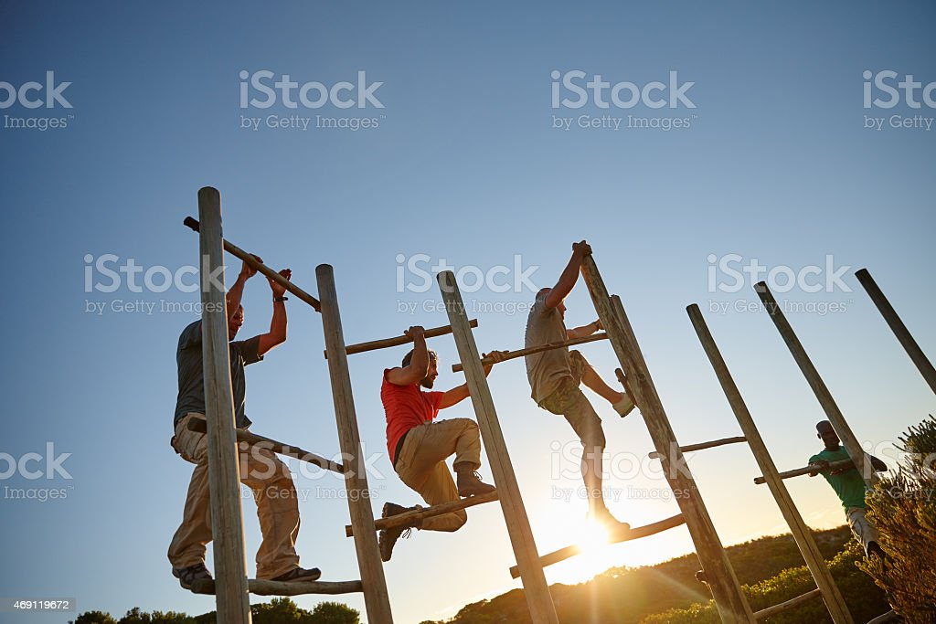 Total body workout stock photo