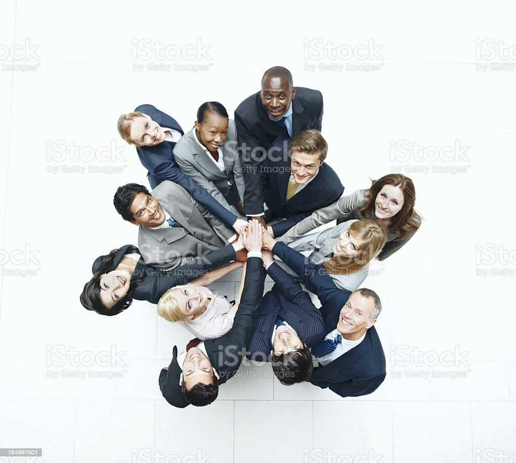 Total commitment to successs royalty-free stock photo