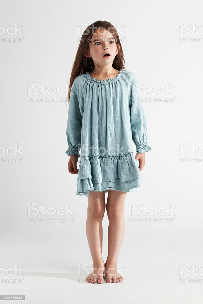 Total disbelief stock photo