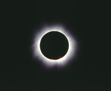 Total Eclipse Of The Sun Hungary 1999 Stock Photo - Download Image Now