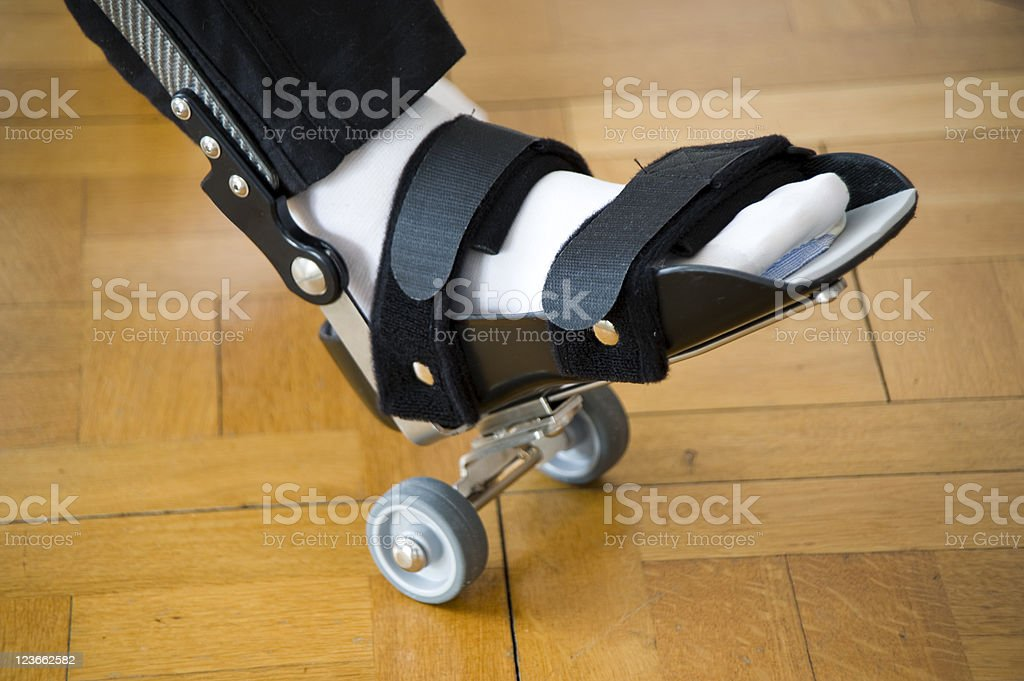 Total Knee Replacement – Revalidation Exercise royalty-free stock photo