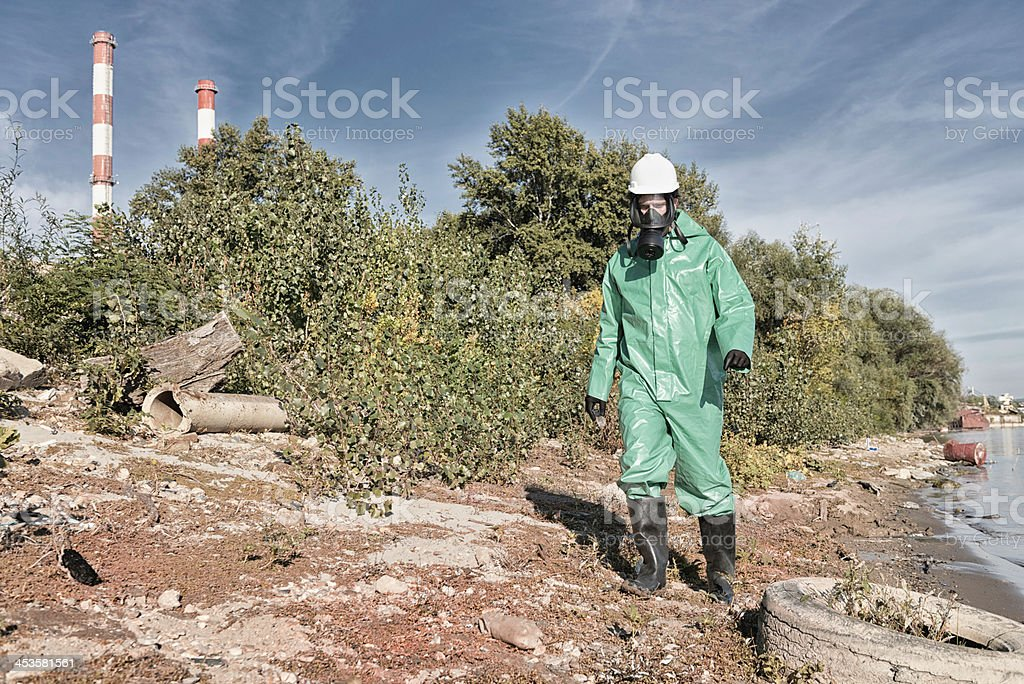 Total pollution royalty-free stock photo