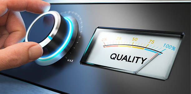 total quality management, tqm - quality control stock photos and pictures
