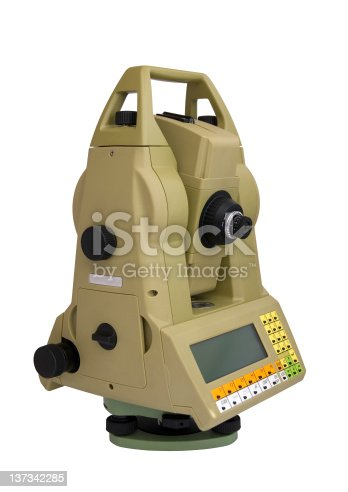 istock Total station 137342285