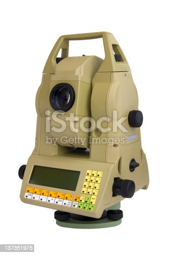 istock Total station 137351975