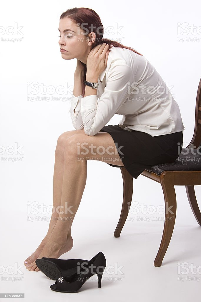 Totally drained stock photo