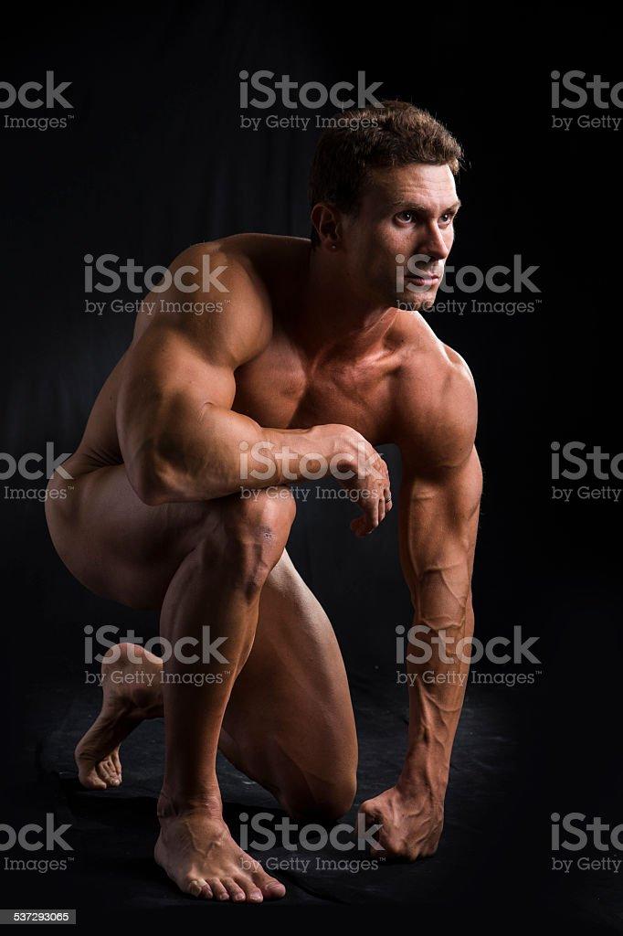 mann nackt unten