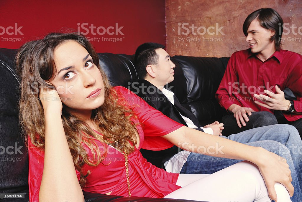 Totally Over It royalty-free stock photo