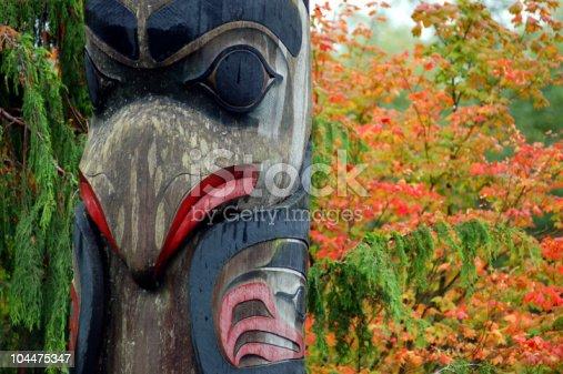 istock totem in ketchikan 104475347