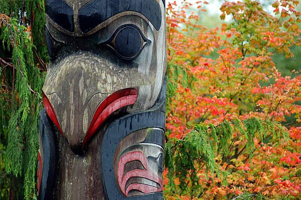 Totem in ketchikan – Foto