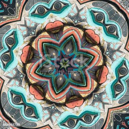 istock Totem Pole Mandala 884944790