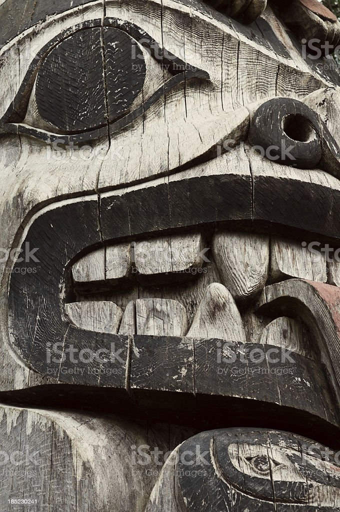 Totem Pole royalty-free stock photo