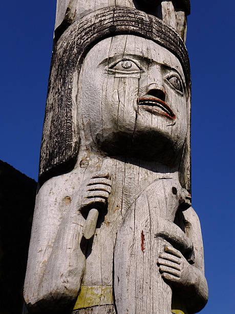 Totem Symbols stock photo
