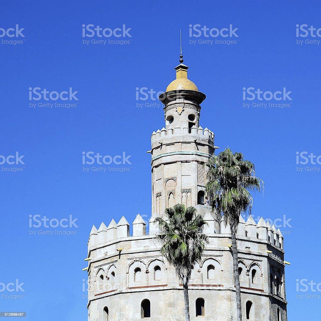 Totte del Oro Seville stock photo