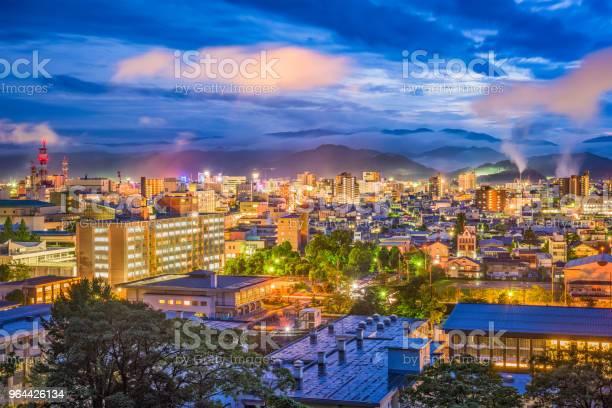 Foto de Horizonte De Tottori Japão e mais fotos de stock de Apartamento