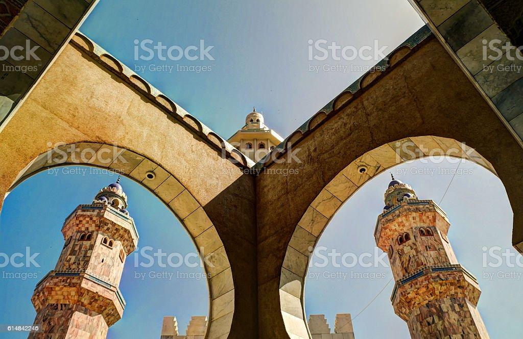 Touba Mosque, center of Mouridism , Senegal stock photo