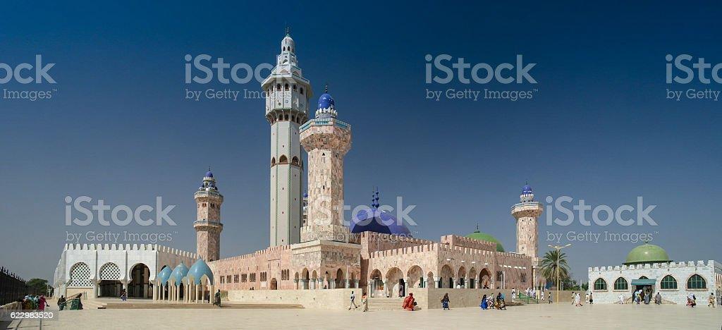 Touba Mosque, center of Mouridism, Senegal stock photo